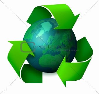 Earth recycling concept