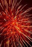 Fireworks closeup