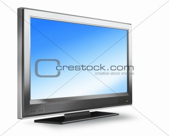 Flat screen plasma tv