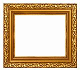 Decorated gold plated frame