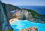 Shipwreck bay Zakynthos