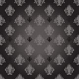 vector seamless damask wallpaper