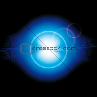 Brightly Colorful Vector Background