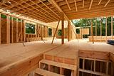 House interior framing