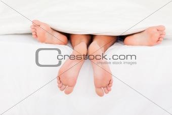 A couple's feet
