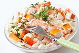 Surimi salad