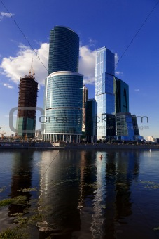Skyscrapers Moscow-City