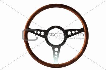 Old retro Steering wheel