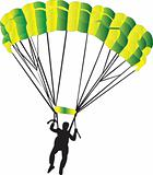 parachutist
