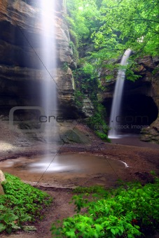 Tonti Canyon of Illinois