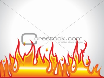 abstract fire row