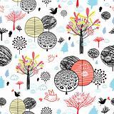 texture autumn forest