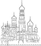 Drawing Cathedral of Saint Basil