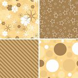 Scrapbook patterns for design, vector