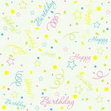 Template birthday background, vector