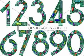 circuit numbers