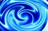 Twirly Blue