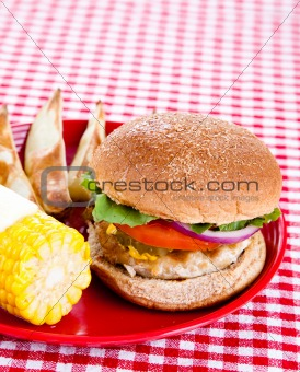 Tasty Turkey Burger