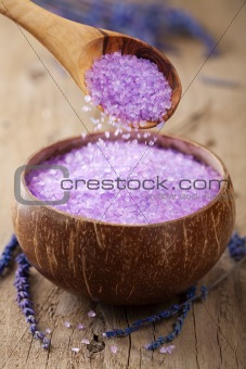 herbal lavender salt