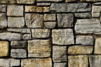Masonry rock wall texture