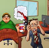 crazy office