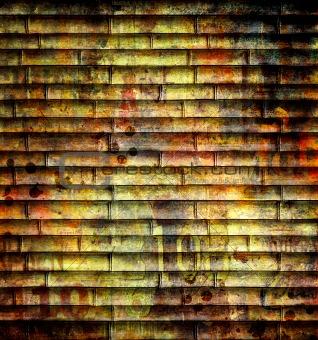 grunge bamboo background