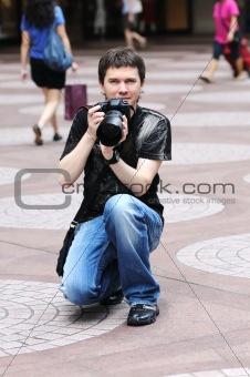 Amateur photographer.