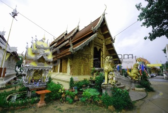 architectures in northern of Thailand