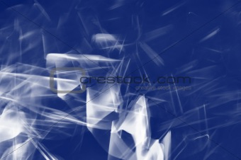 Abstract lighting trace.