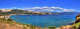 Bay of Baska - beautiful long beach