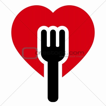 Fork heart tree