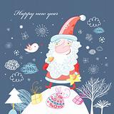 postcard from Santa Claus