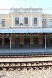 Railway Station in Plovdiv, Bulgaria