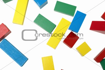 Abstract Image of Color and Shapes