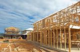 New home construction framing