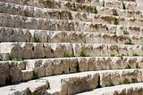 Steps at an amphitheatre