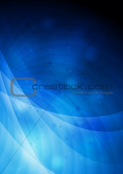 Abstract backdrop with waves