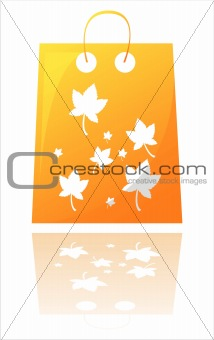 autumn shopping bag