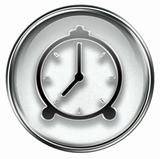 clock icon grey