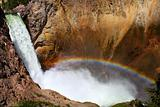 Rainbow at Lower Falls - Yellowstone