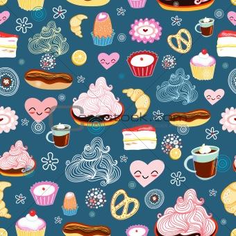 texture of sweet desserts