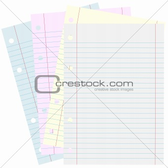 Blank School Papers
