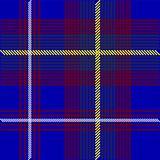 Blue Tartan Fabric