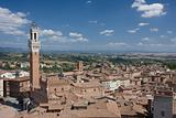 View of the Sienna skyline