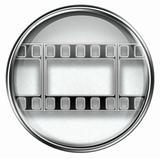 Film icon grey