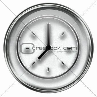 clock icon grey