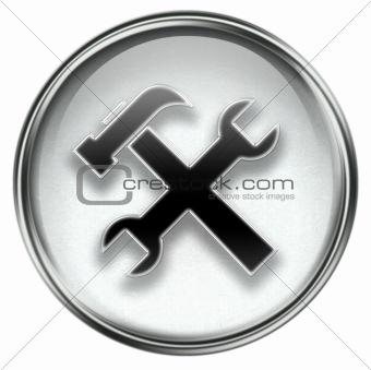 Tools icon grey