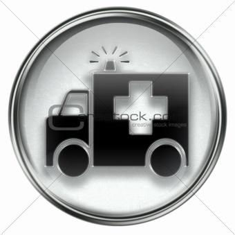 First aid icon grey