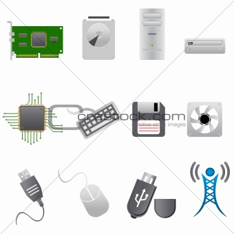 Computer parts and hardware