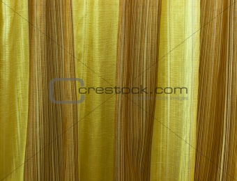 gold colored fabric